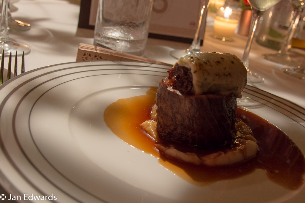 Beef main course