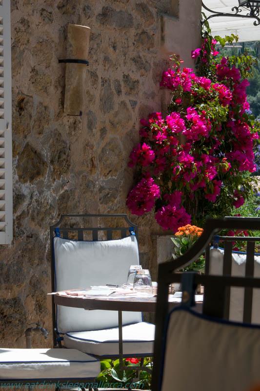 Belmond La Residencia terrace.