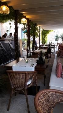 Bistro Senzill's terrace