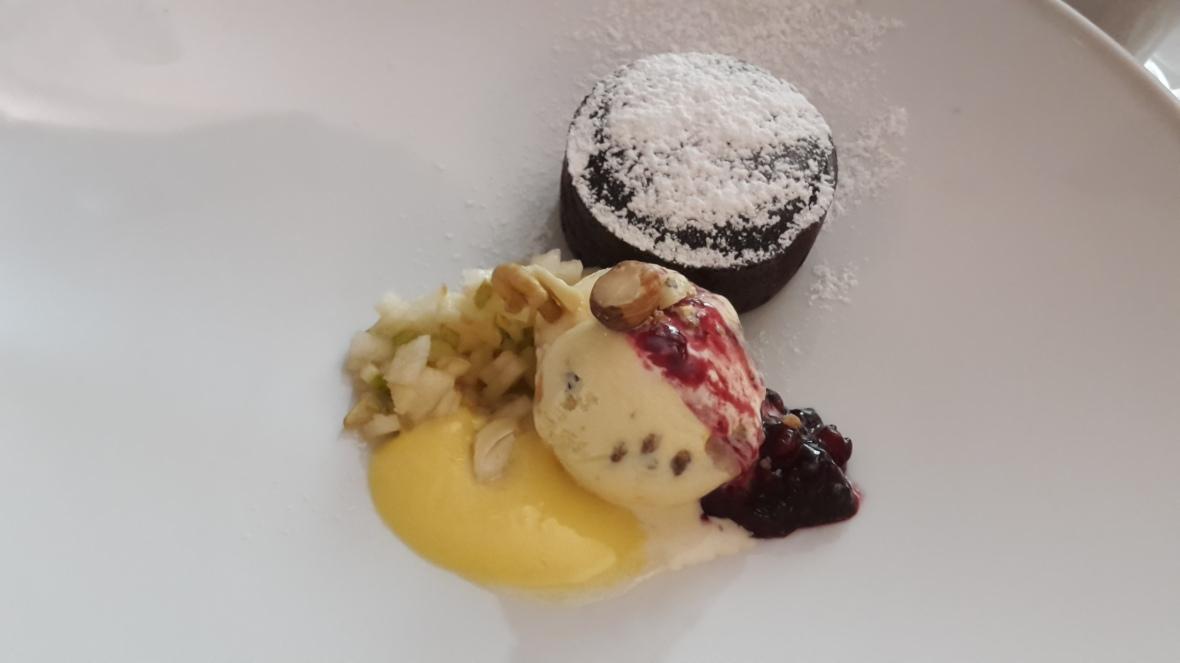 Dessert at Il Faro by Sascha