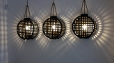 Wall lights in Fera restaurant in Palma