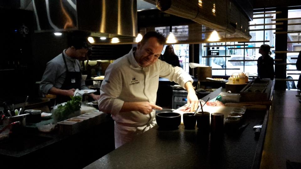Chef Tomeu Marti at work