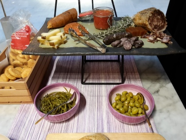 Part of breakfast buffet at Summum Prime Boutique Hotel