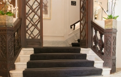Staircase in Summum Prime Boutique Hotel