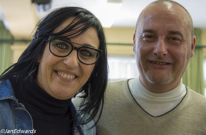 Maria Salinas and Miquel Gelabert