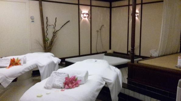 Couple's treatment room at Valparaiso