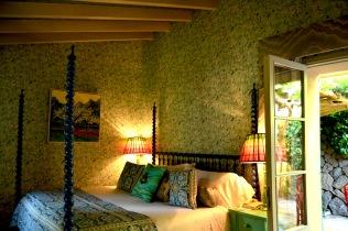 Bedroom designed by Matthew Williamson