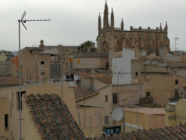 The rooftops of Palma's old town