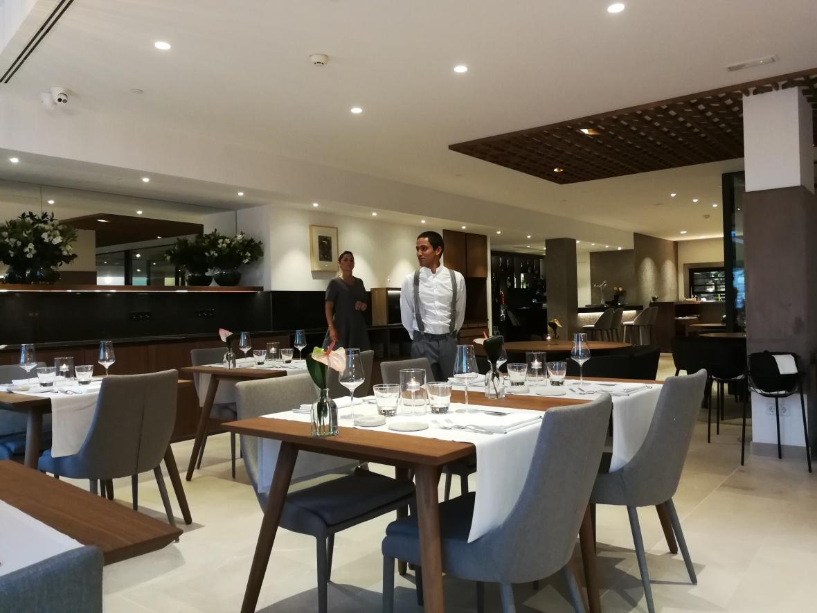 Es Princep hotel's Mura restaurant