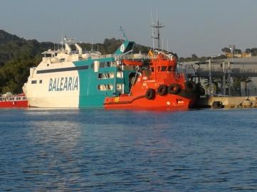 Ferry in Puerto Alcudia