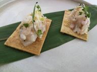 Starter at Ponderosa Beach Chef Night 2018