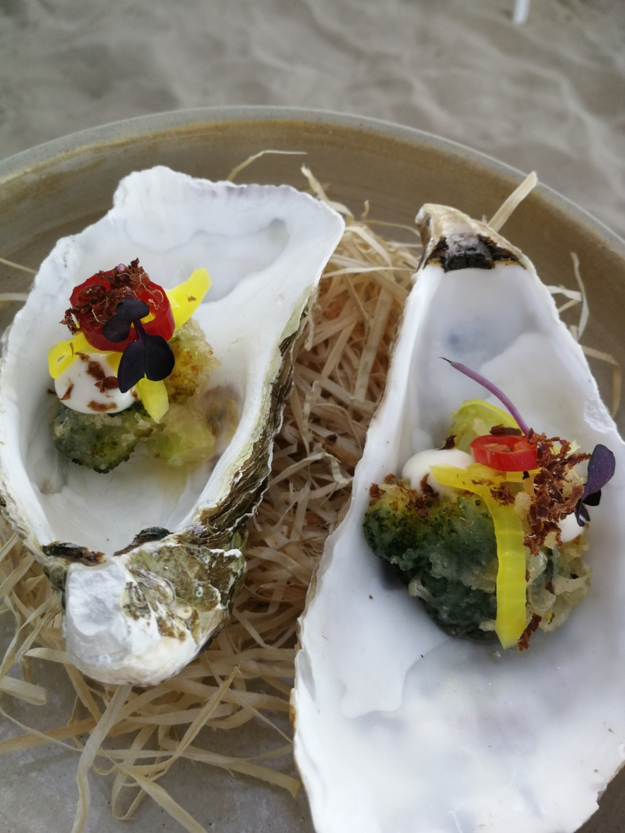 A starter for sharing at Ponderosa Beach Chef Night 2018