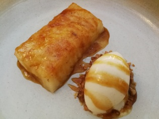 Dessert at Ponderosa Beach Chef Night for San Juan 2018