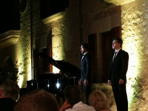 Young Singers of the Salzburg Festival at Castell Son Claret, Mallorca