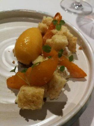 Bala Roja dessert on Menu Es Princep