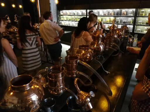 The distilling 'lab'
