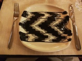 Smart tableware for El Patio de Gloria