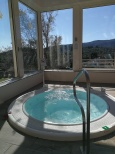Jacuzzi with views