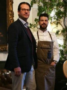 Giovanni Merello (l) and Andres Benitez (r)