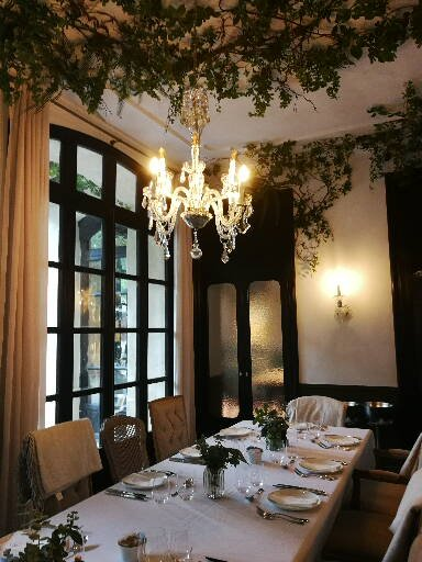 Dining space at Can Bordoy Grand House and Garden