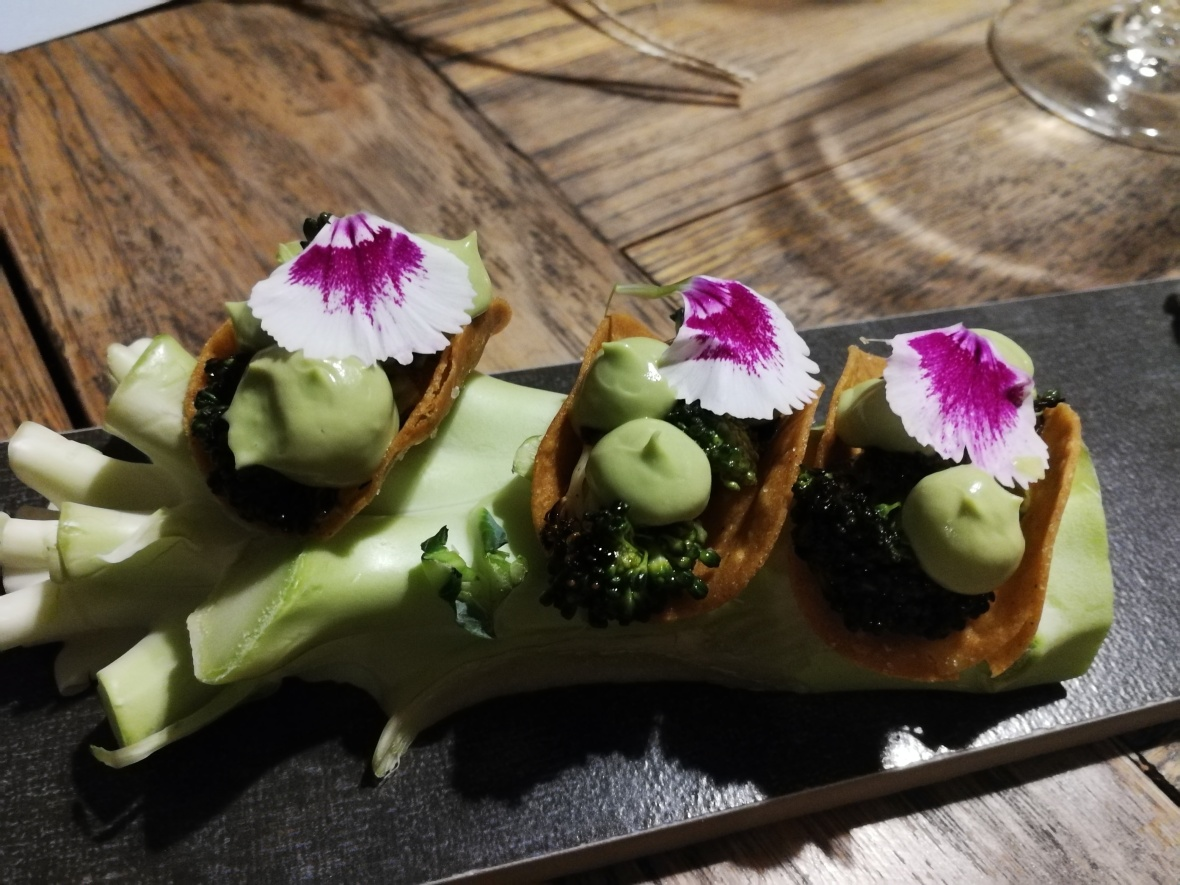 Broccoli, Ponzu, Avocado