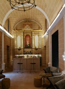 A tasteful conversion of the convent's former chapel