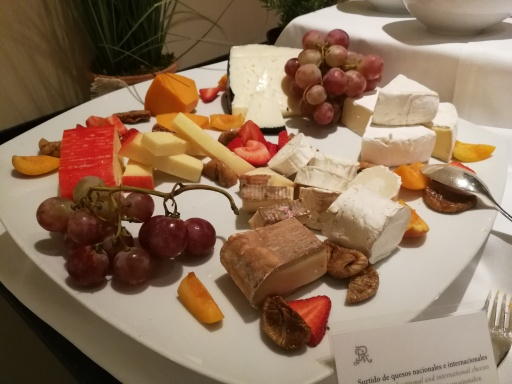 Tempting cheeses...if we had room for them!